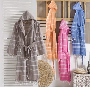 Sultan Bathrobe - Peshtemal Bathrobe